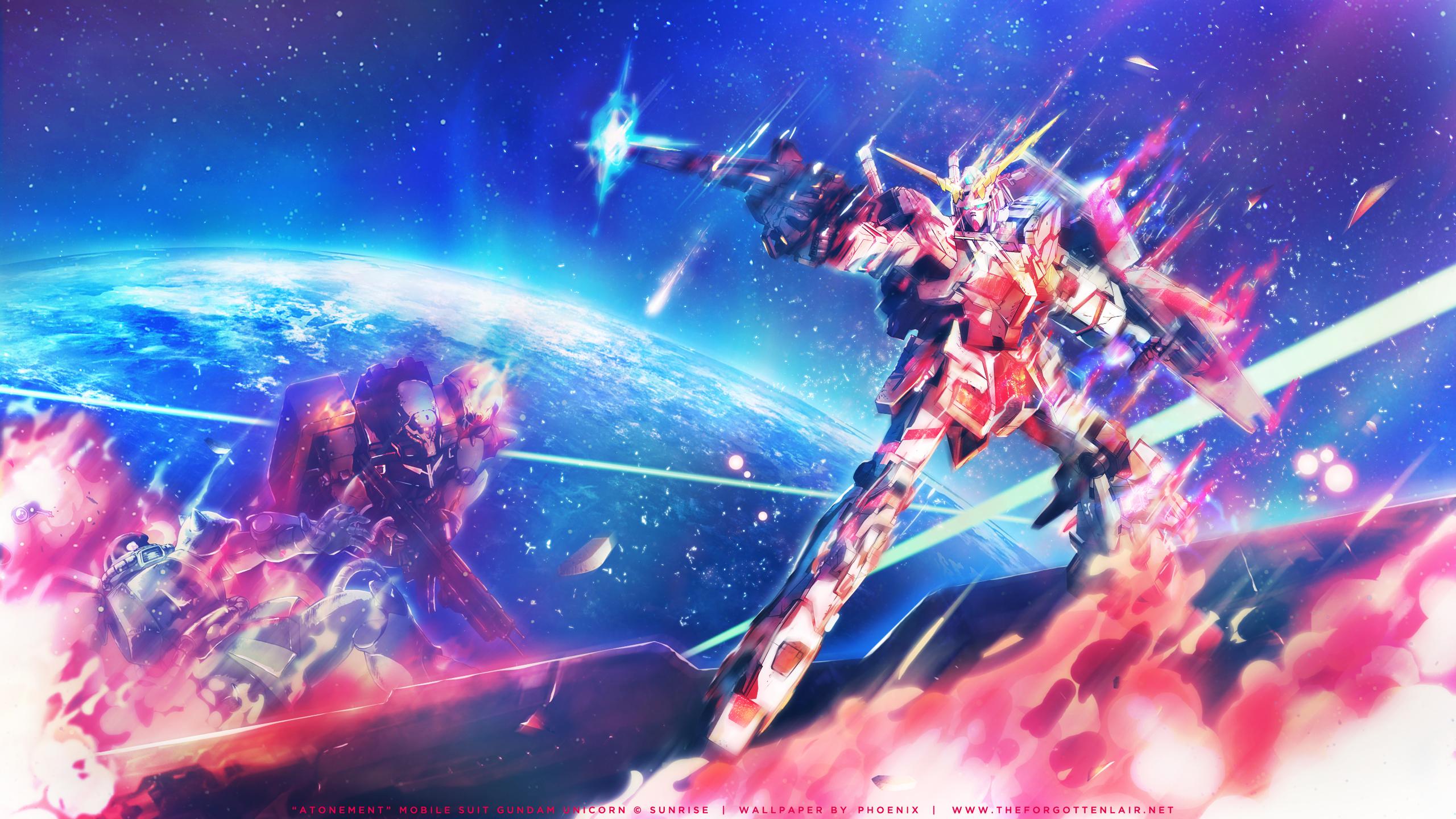 Mobile Suit Gundam Unicorn 2560x1440 Animewallpaper