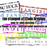 Stamped Attitude