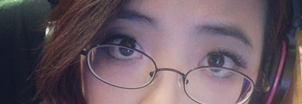My left eye (your right side) shows the double lid. My right eye (your left side) is derping out. Thanks a lot, football eyes...