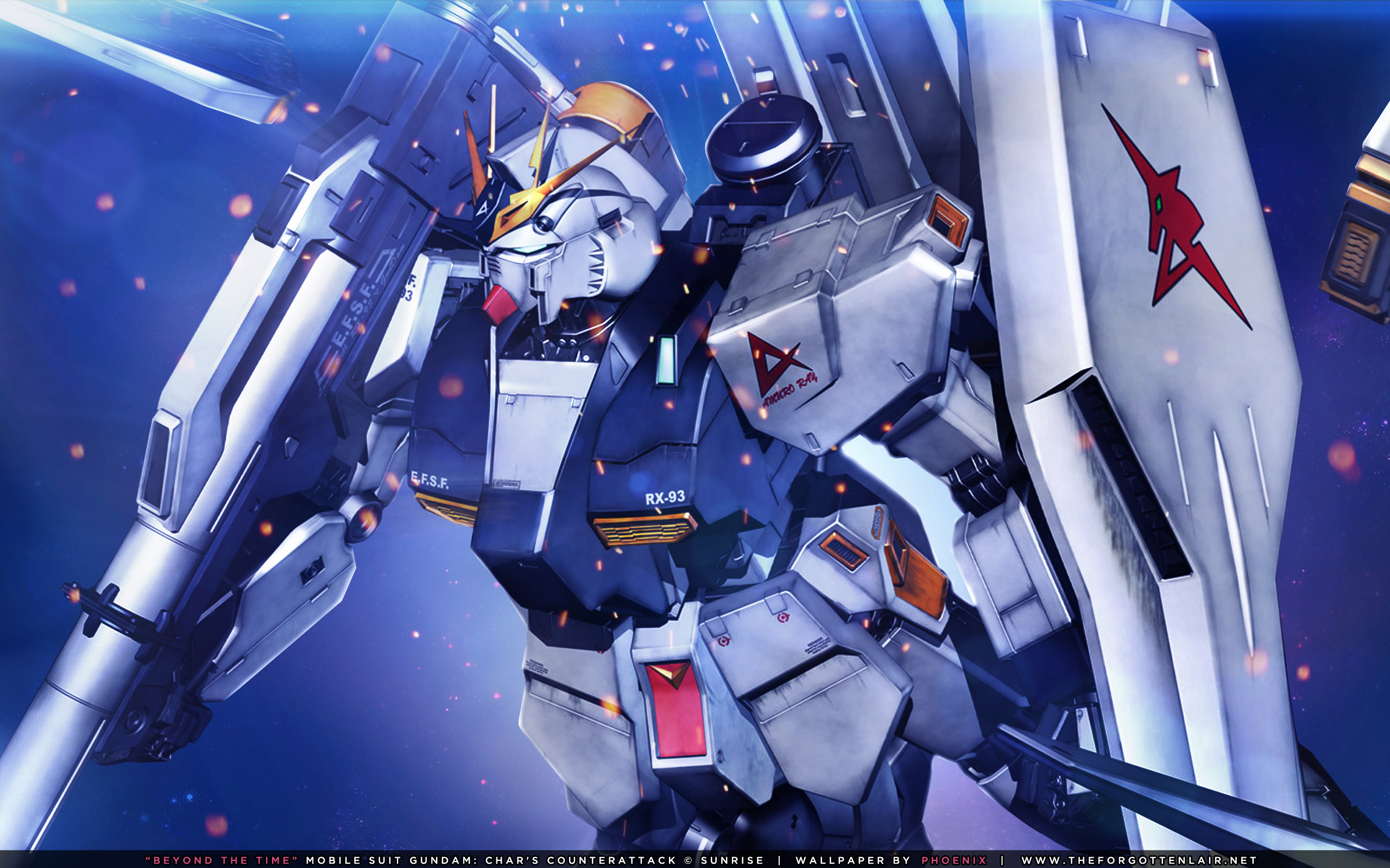 The Forgotten Lair Mobile Suit Gundam Char S Counterattack Desktop Wallpapers