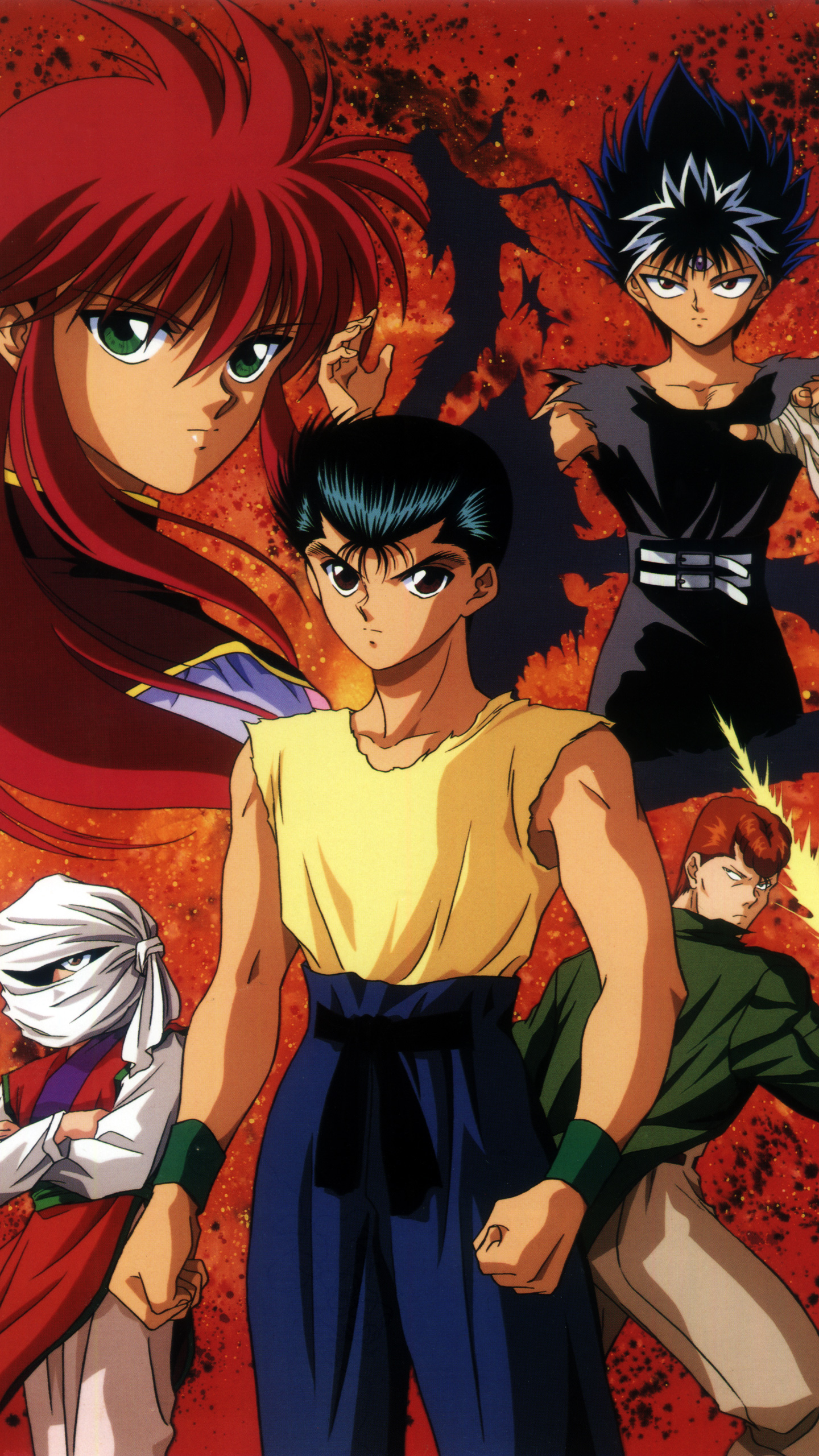 The Forgotten Lair Yu Yu Hakusho Mobile Wallpapers
