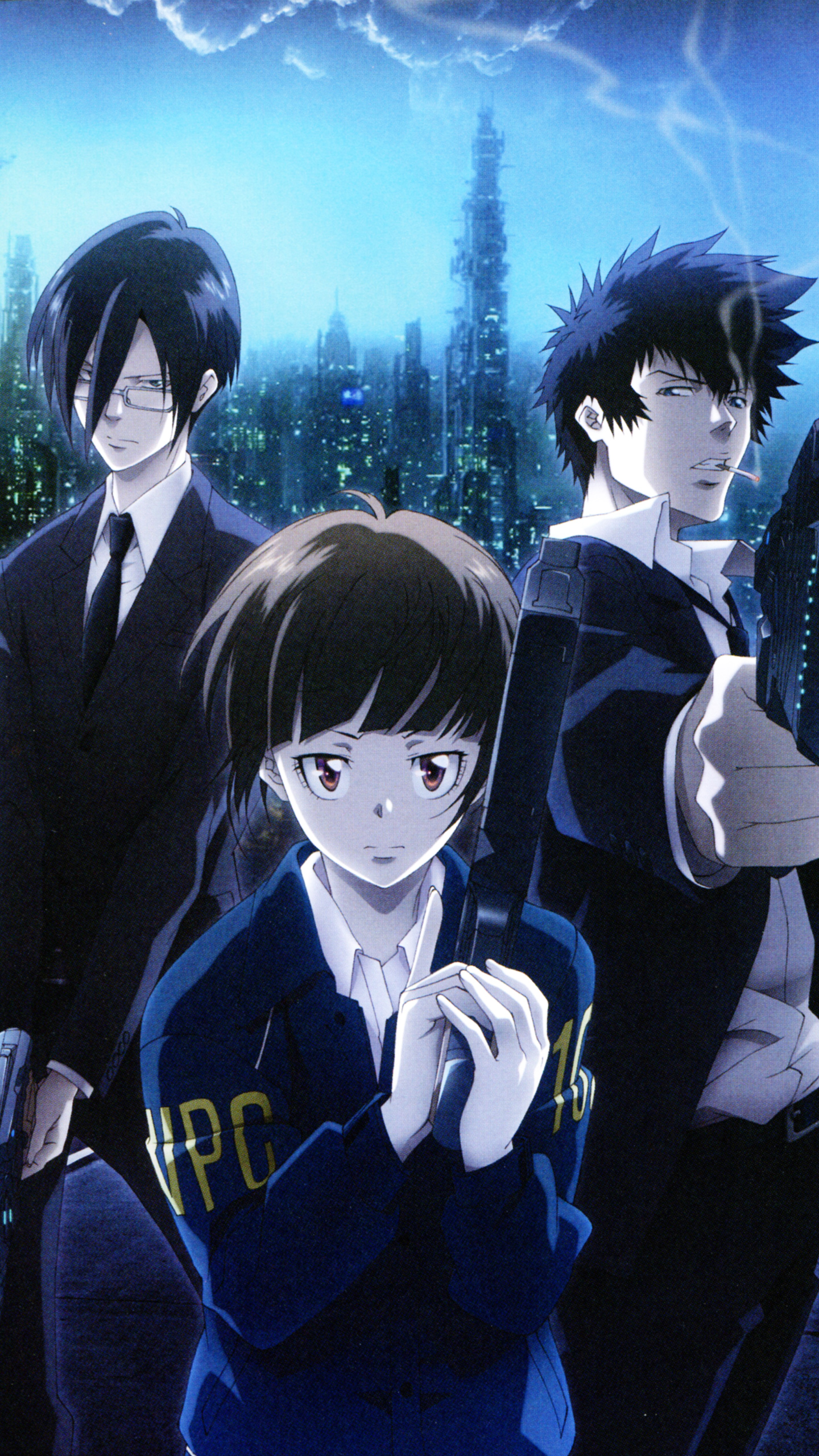 The Forgotten Lair Psycho Pass Mobile Wallpapers