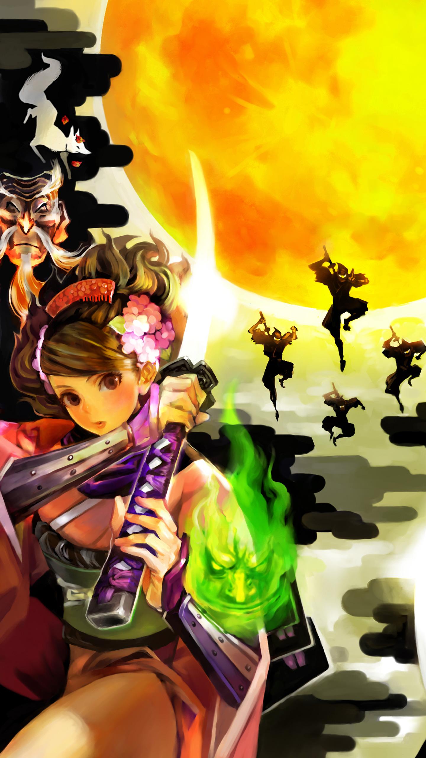 The Forgotten Lair Muramasa The Demon Blade Mobile Wallpapers