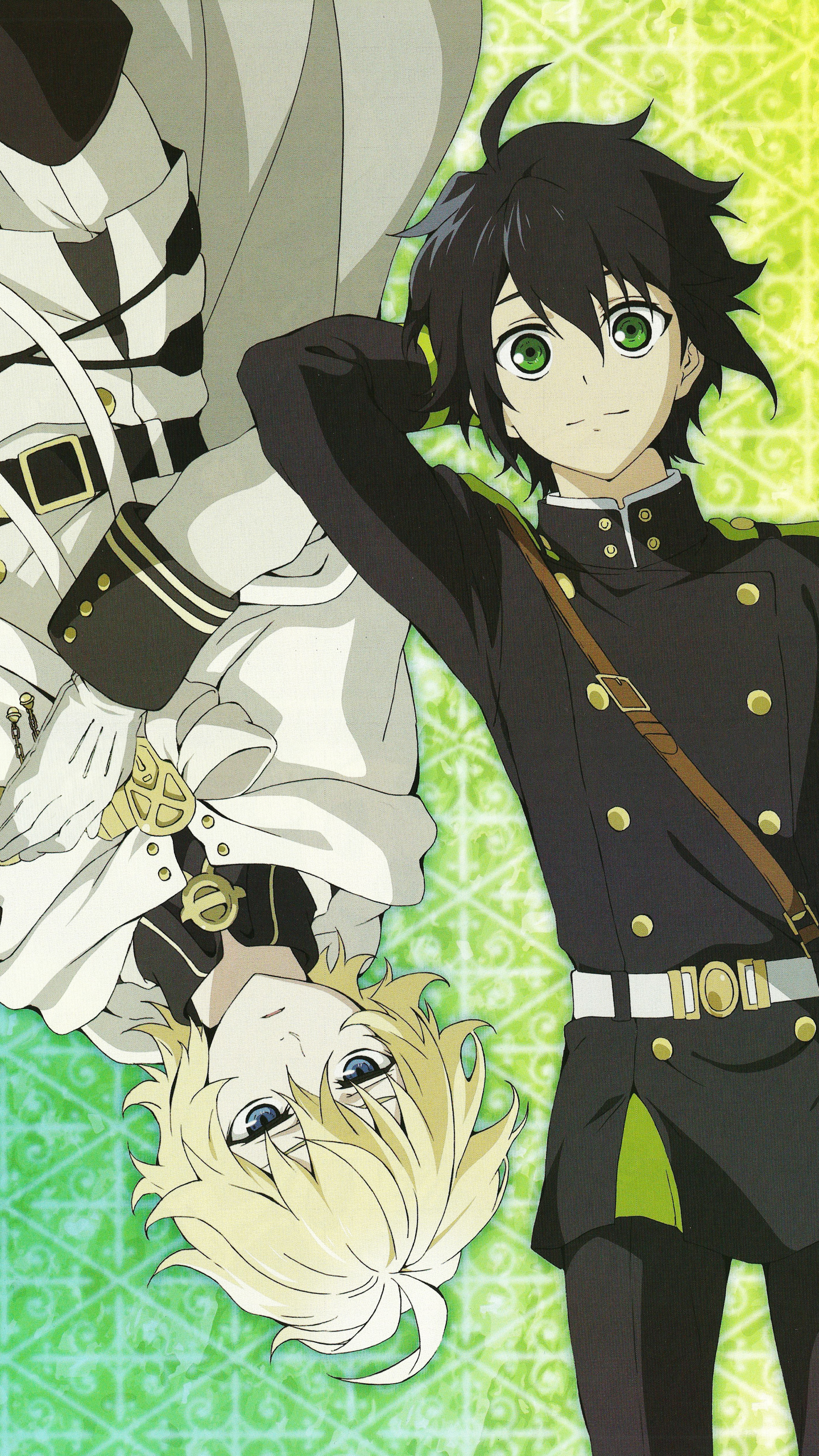 The Forgotten Lair Owari No Seraph Mobile Wallpapers