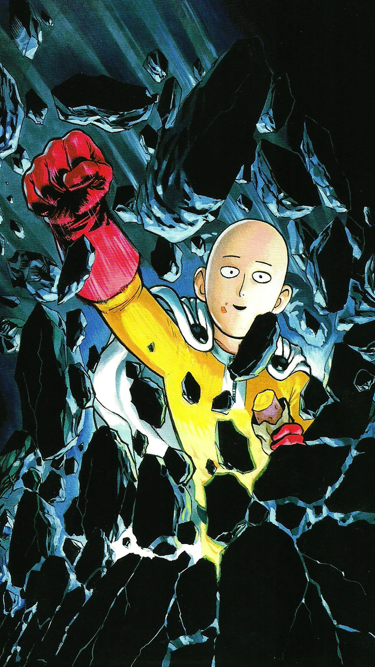 The Forgotten Lair | One-Punch Man Mobile Wallpapers