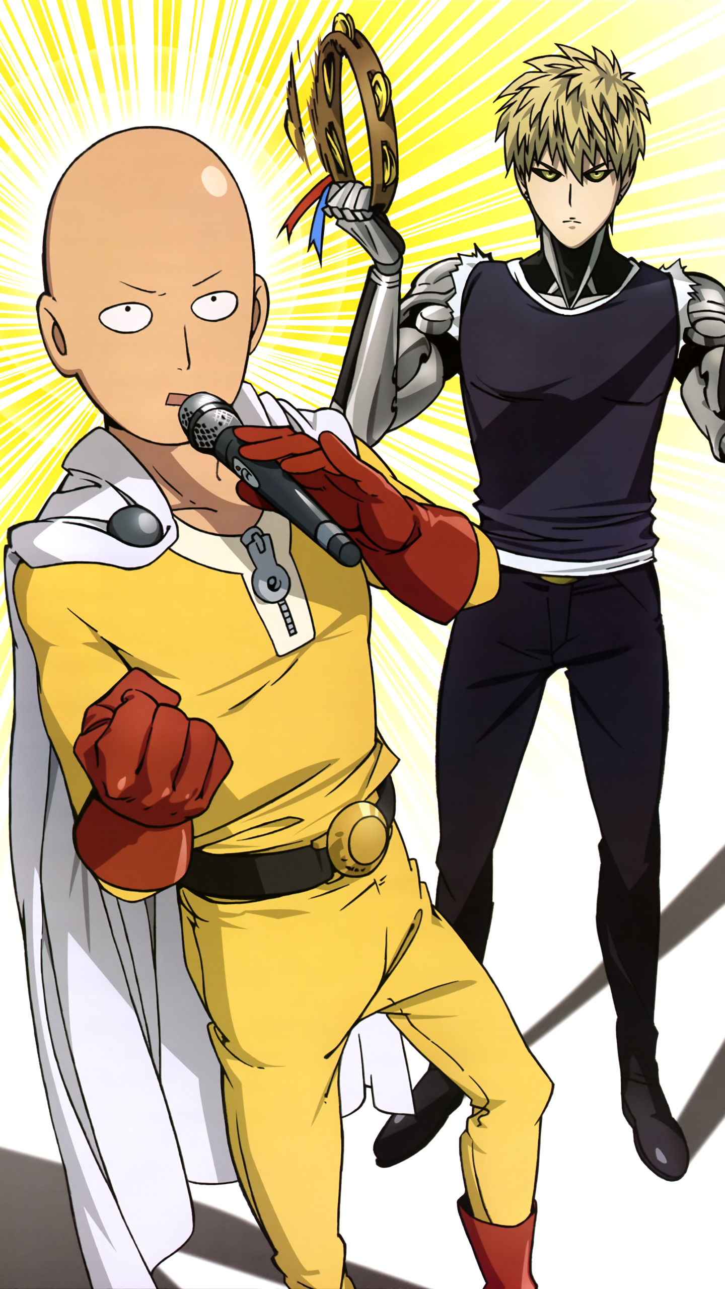 The Forgotten Lair One Punch Man Mobile Wallpapers