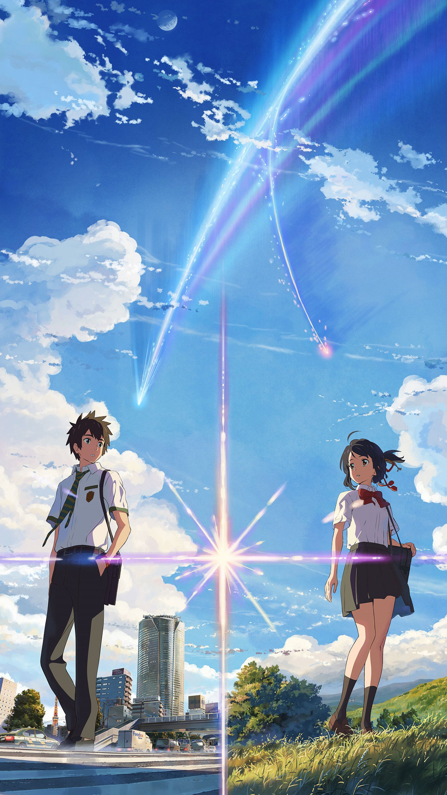 The Forgotten Lair Kimi No Na Wa Mobile Wallpapers