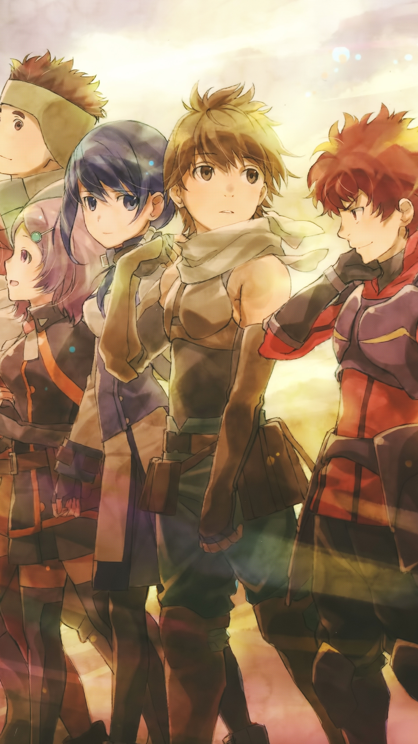 The Forgotten Lair Hai To Gensou No Grimgar Mobile Wallpapers
