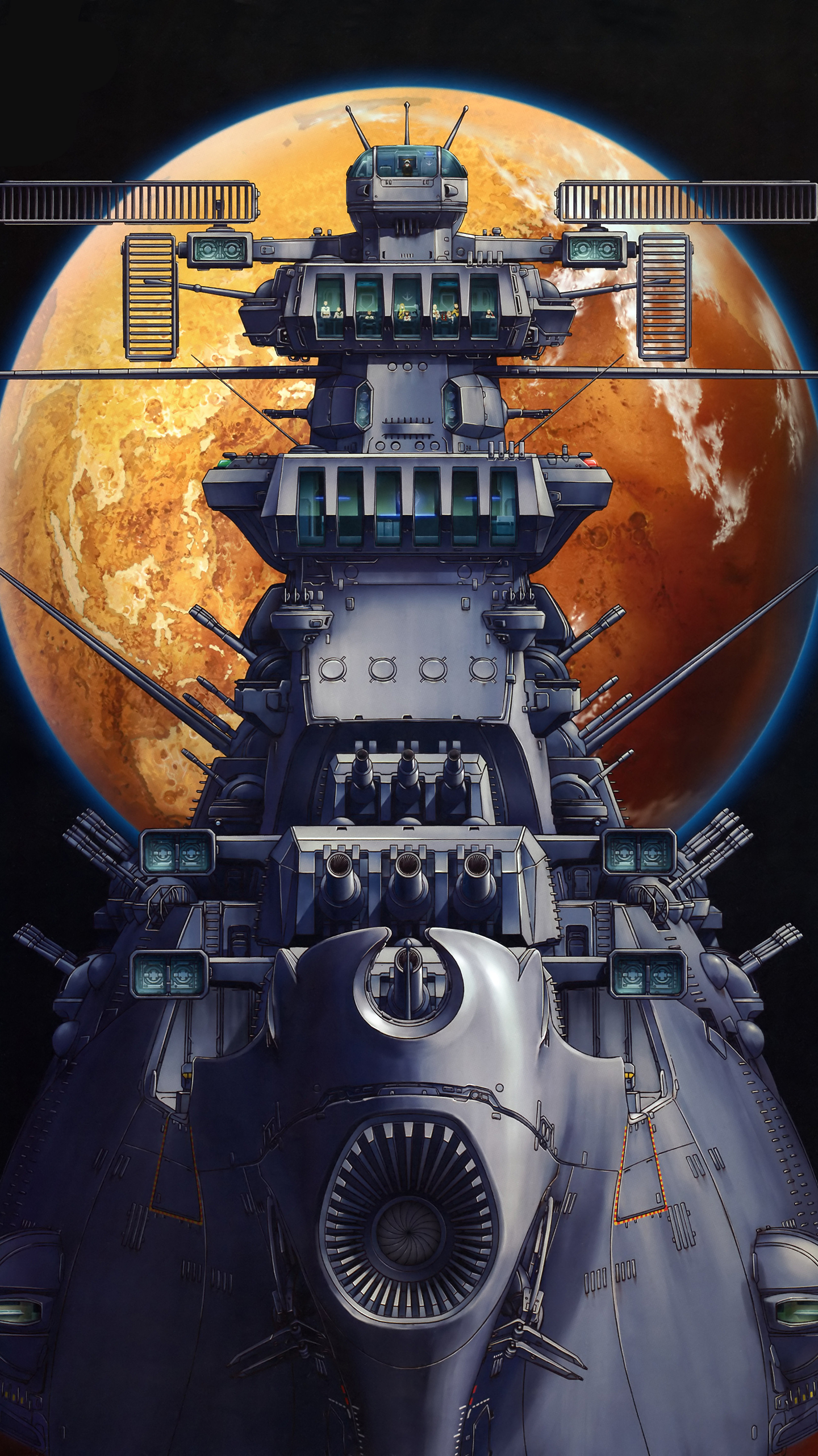 The Forgotten Lair Space Battleship Yamato 2199 Mobile Wallpapers