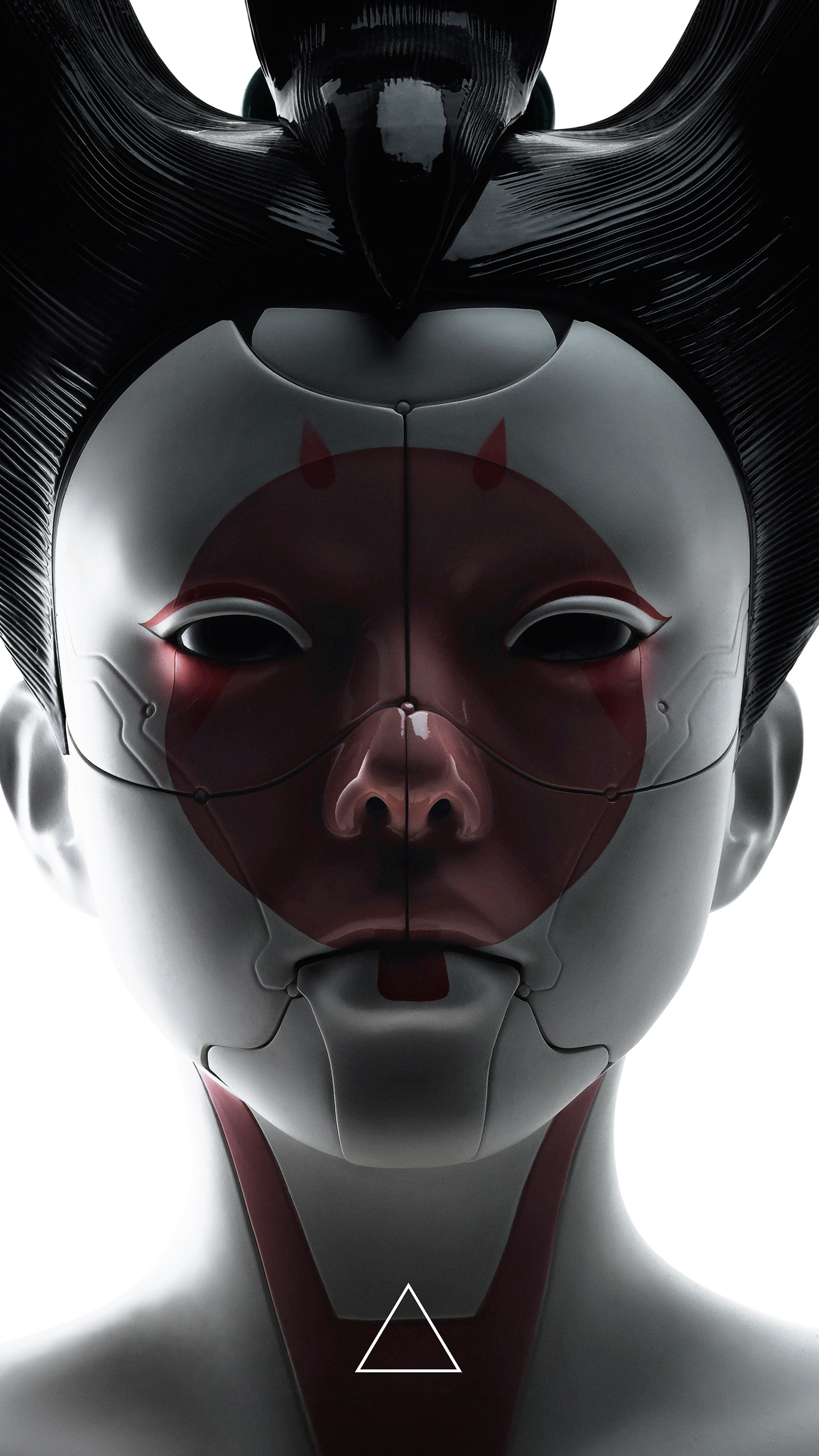 The Forgotten Lair Ghost In The Shell Movie Mobile Wallpapers