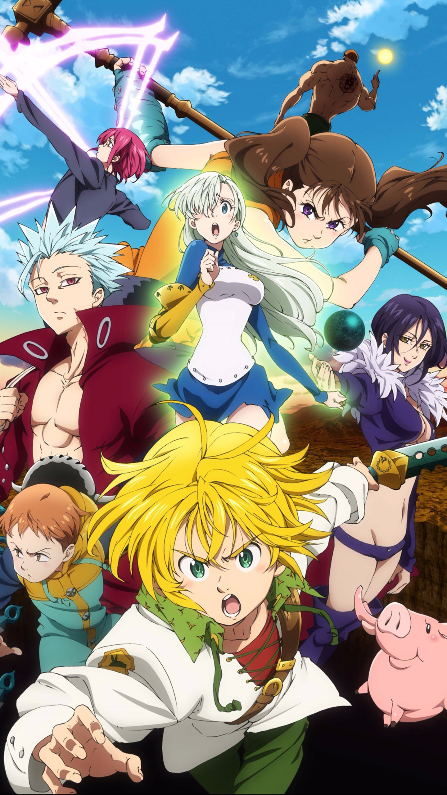 The Forgotten Lair The Seven Deadly Sins Mobile Wallpapers